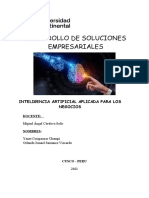 ENTREGABLE PA 2 DESARROLLO DE SOLUCIONES EMPRESARIALES