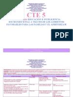ESTRATEGIA DE EDUCACION E INTELIGENCIA SOCIEOMOCIONAL (RESILENCIA)  A TRAVES DE LOS AMBIENTES FAVORABLES PARA LAS FAMILIAS