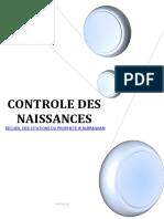 CONTROLE DES NAISSANCES