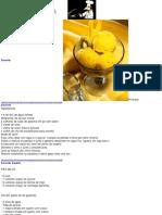 Culinária (Receitas) - Livro De Receitas - Sorvete