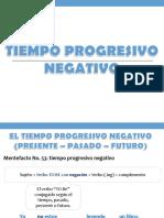 3. Tiempo Progresivo Negativo
