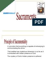 Final Lecture. Sacraments