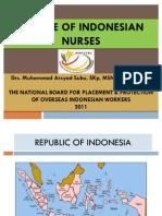 Profile of Indonesian Nurses