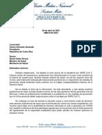 UMN-0192-2021 Presidente de la República y Ministro de Salud