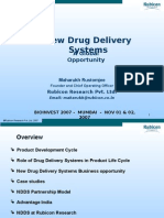 NEW DRUG DELIVERY SYSTEM