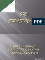 PENGARUH BUDAYA TERHADAP KESEHATAN