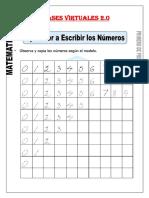Aprendo a Escribir Los Números