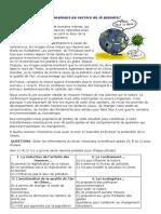 05032021 L'ENVIRONNEMENT ET LA POLLUTION