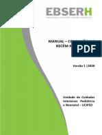 Manual 014 Uciped Condução Do Rn Com Icterícia Versão1