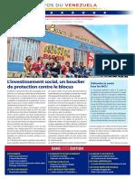 Venezuela Informează| Buletin Săptămânal 11.06.2021 - versiune limba franceza