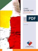CHile quiere más cultura