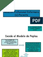 Relación Enfermera (o)-Paciente, Clase 1