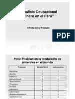 ANALIS OCUPACIONAL MINERO EN EL PERU