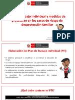 El Plan de Trabajo Individual y las Medidas de Protección