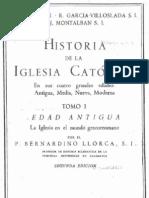 Historia de La Iglesia Catolica - Parte I