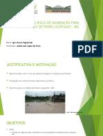Apresentação TCC - Mapa de Inundação Pedro Leopoldo-MG