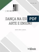 Dança na Escola, Arte e Ensino
