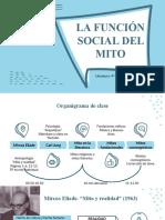 La función social del mito