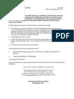 IMF 2010 Romania Report