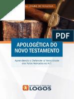 Apologética do Novo Testamento   Curso de Teologia 100% Online   Instituto de Teologia Logos