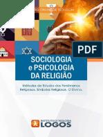 Sociologia e Psicologia da Religião | Curso de Teologia 100% Online | Instituto de Teologia Logos
