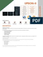 UPS TECHNOLOGY - UPSON-II 1000-3000-1