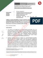 Suspenden a Servidor Por Permitir Contratación de Locador Que No Cumplía Perfil Para El Servicio [Resolución 000518-2021-Servir]