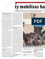 Mobility mobilizes handicapped Afghans