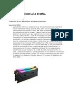 """""""De lo Analógico a lo Digital"""" y """"El Ordenador"""" - Grupo 2 (Cultura Científica)"""