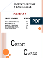 credit cards ppt...final
