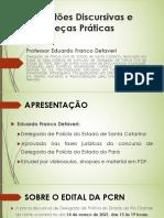 Aula 1 - Curso de Pecas Praticas e Questoes Discursivas (Aula de Questoes Discursivas)