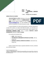 Denuncia Penal Contra Francisco Sagasti