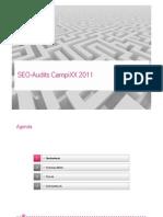 SEO Audits CampiXX