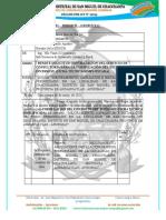INFORME  N° 002 – 2021 – MDSMCH – GDUR-N.Y.C. requerimiento de ficha tecnica