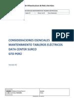 GTD Peru Mantenimiento Tableros Eléctricos v2