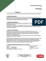 Information 813656 Kontakt Chemie Printer 66 73009 Aa Druckerreiniger 200 Ml