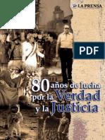80 Años de lucha por la_verdad_y_la_justicia La_Prensa