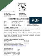 NFPS Information Brochure 2011