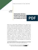 FRIVOLIDAD TÁCTICA + RITMOS DE RESISTENCIA