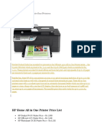 HP Officejet 4500 All