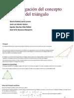 Investigación Del Concepto Del Triángulo