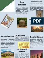 Las principales civilizaciones mesoamericanas