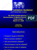 6_APEC_ SG3_Process Validation Training KL 2008 -Gunter Frey