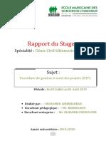 Rapport de Stage EMSI 2019