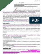 Actividad LOS TEJIDOS 4º Biología - 2021