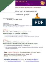 TALLER DE INICIACIÓN A LA MEDITACIÓN