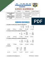 Matematic4 Sem9 Experiencia3 Actividad4 Numeros Racionales QA409 Ccesa007