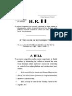 Ending Platform Monopolies - Bill Text