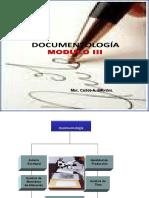 Clase de Documentología