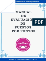 Manual de Evaluación de Puestos Por Puntos